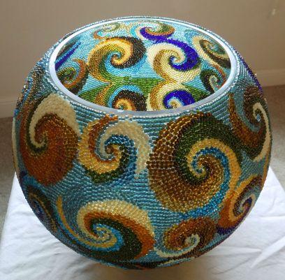 "14x12"" Bead weaving/mosaic"